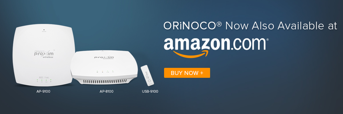 ORiNOCO Now Also Available at Amazon
