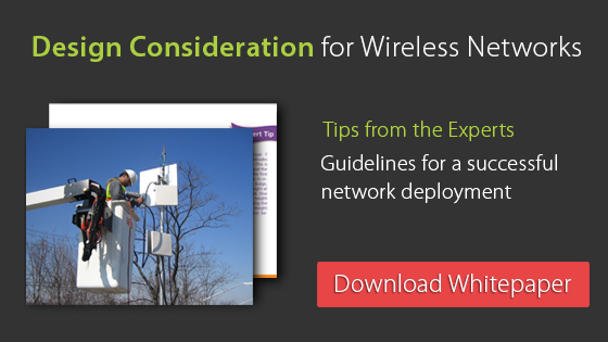 Design Consideration for Wireless Networks