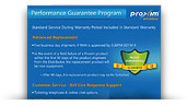 Performance Guarantee Program