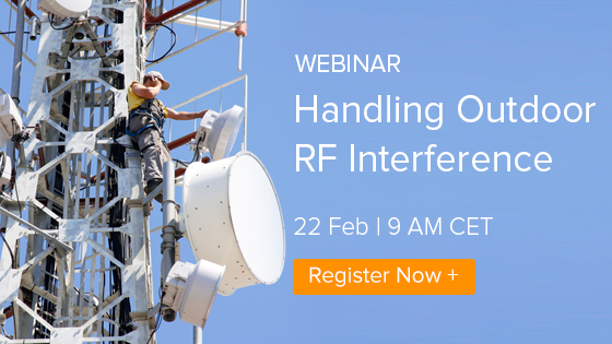 Webinar: Handling Outdoor RF Interference