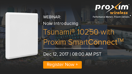 Webinar: Now Introducing the Tsunami® 10250 with SmartConnect™